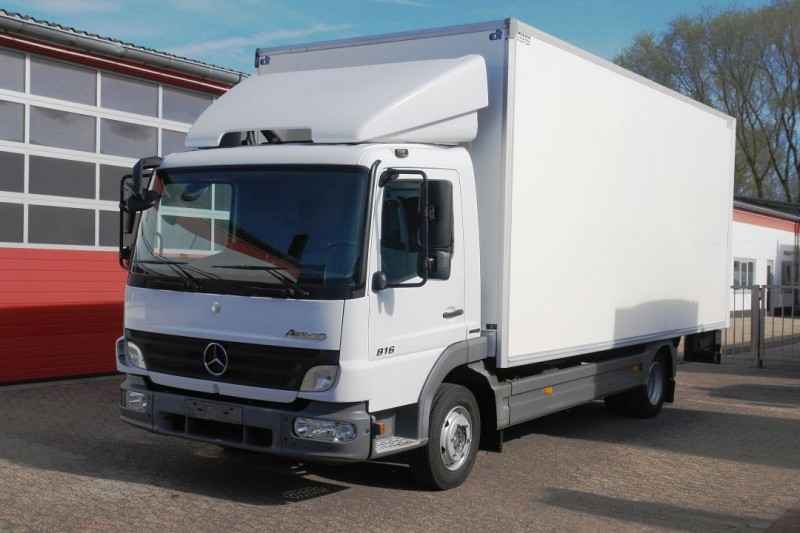 Mercedes-Benz - Atego 816 box 6,0m automatic gearbox liftgate TÜV new!