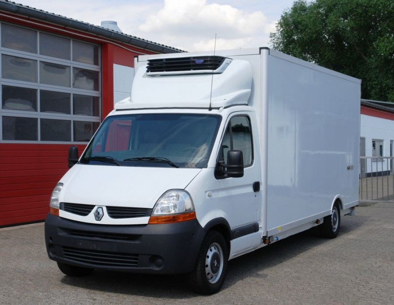 Najnowsze Renault Master 120dci samochód dostawczy chłodnia Carrier Xarios IS24