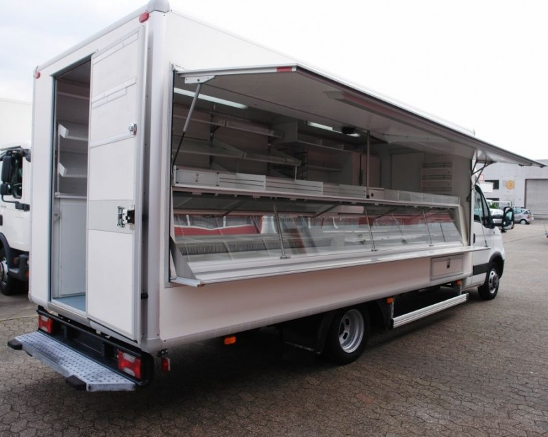 - Iveco Daily 50C15 Caisse magasin