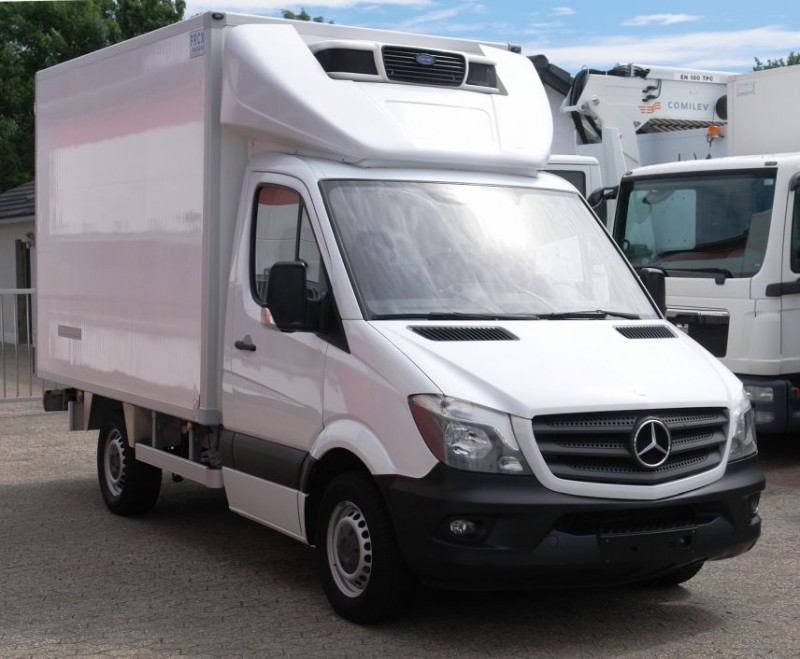 Mercedes-Benz  Sprinter caisse frigorifique Carrier Pulsor 350 crochet boucherie  EURO5