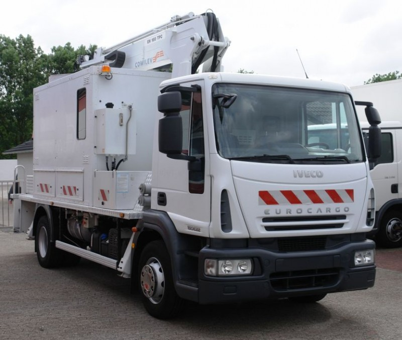Iveco Eurocargo 150E22 working lift EN180TPC 18m basket 200kg TÜV UVV new!