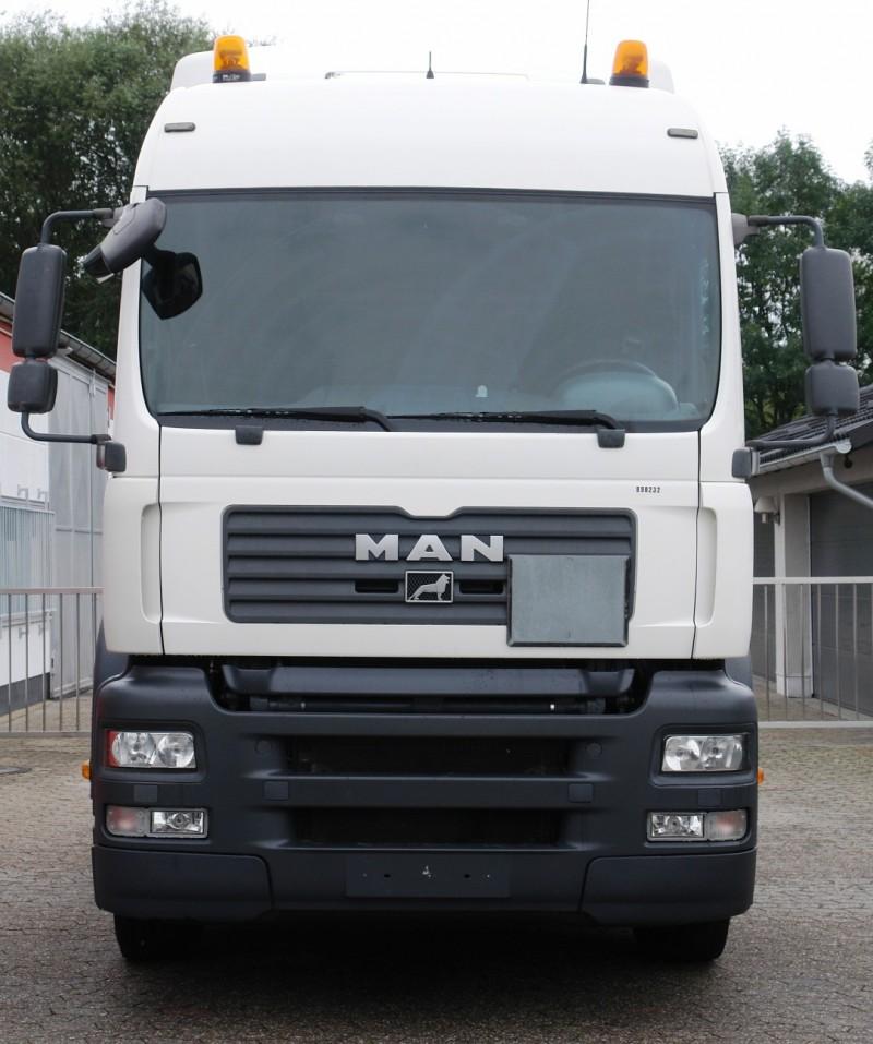 MAN TGA 18.400 LX Hydraulik Klima Kühlschrank 2 Liegen TÜV neu ...