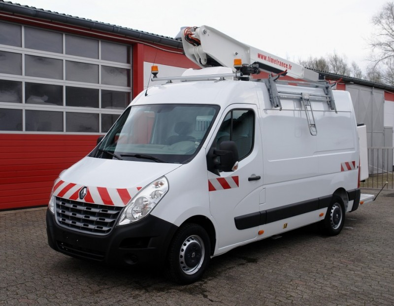 Renault - Master 125dCi aerial work lift ET-26-LEXSZ 10,6m airco EURO5