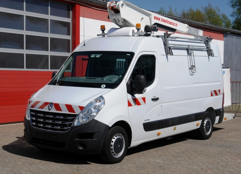 Renault - Master 125dCi aerial work lift ET-26-LEXS 10,6m airco EURO5