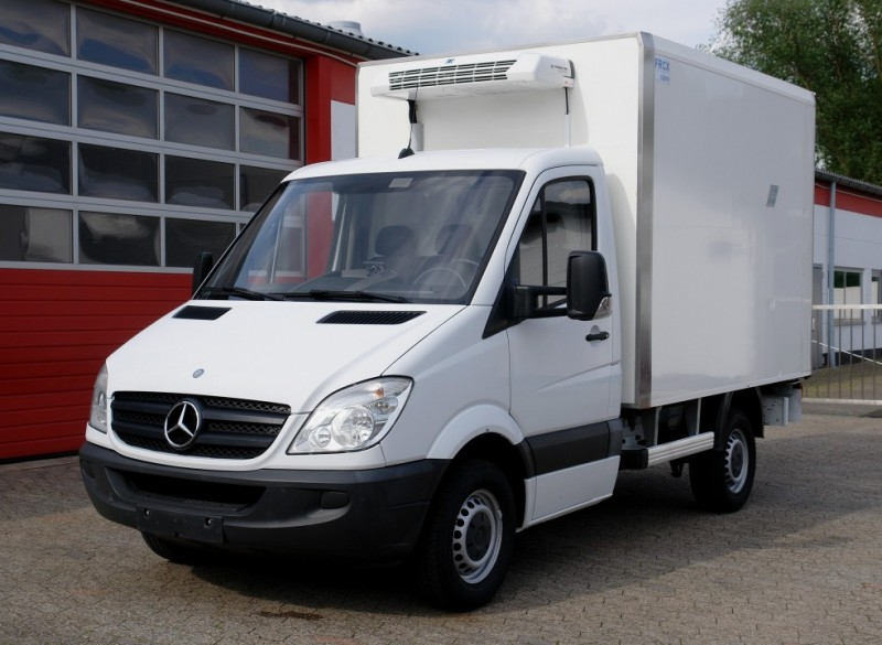 Mercedes-Benz -  Sprinter 313 caisse frigorifique Thermoking V200MAX clim!  charge utile 1070kg!EURO5