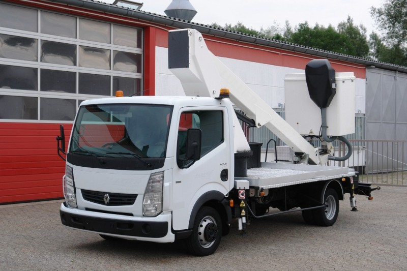 Renault - Maxity 130 DXI aerial work lift GSR E148T 14m 200kg basket new TÜV and UVV