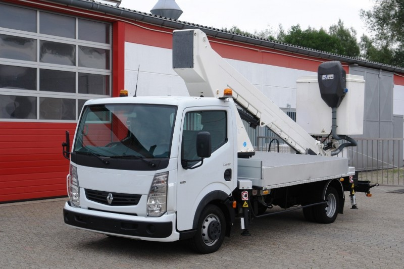 Renault - Maxity 130 DXI aerial work lift GSR E179T 17m 200kg basket new TÜV and UVV
