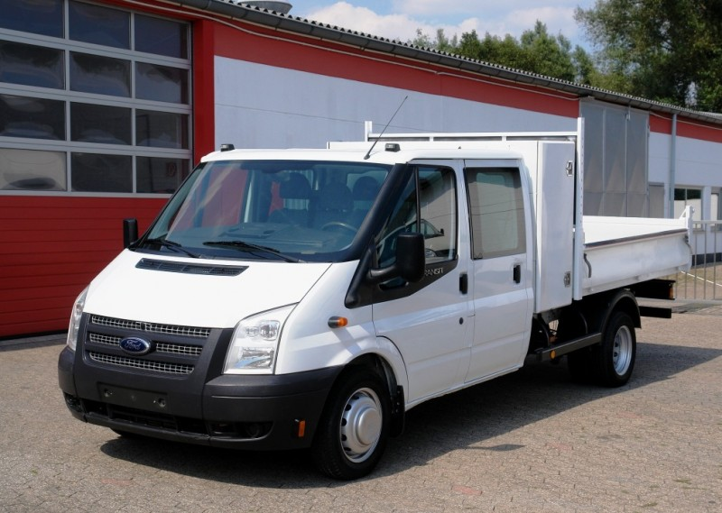 Ford - Transit FT350 doble cabine benne basculante! clim! Euro 5