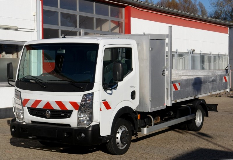 Renault - Maxity 140.35 tipper Alukipper 3,50m tool box payload 1140kg climate EURO5 TÜV new!