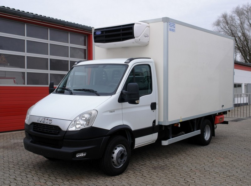 Iveco - Daily 70C17 Tiefkühlkoffer 4,10m Carrier Xarios 600Mt LBW EURO5 TÜV neu!