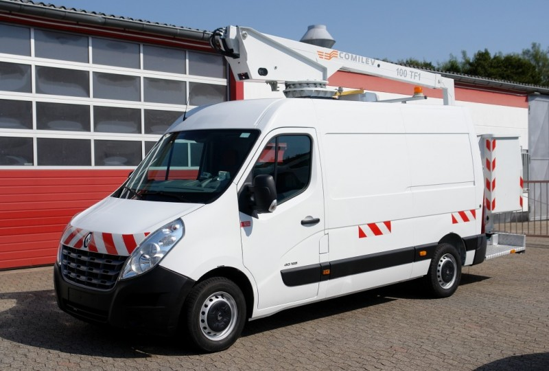 Renault - Master 125dCi aerial work lift EN-100-TF1 10m airco EURO5 new TÜV UVV!