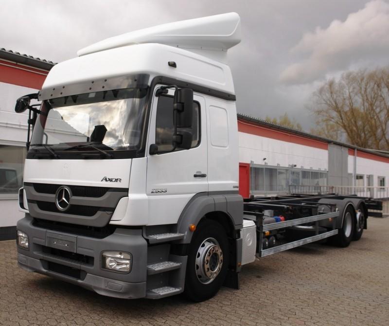 Mercedes-Benzشاحنة مرسيدس Actros 2533L جسم قابل للتغيير BDF