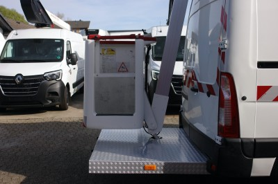 Opel Movano Furgon Hubarbeitsbühne Time France ET-32-LE 9,6 m EURO 5 TÜV