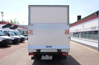 Iveco Daily 35C13 Koffer air condition sidedoor tail lift Dhollandia EURO5 TÜV!